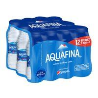 Aquafina bottled drinking water 330 ml x 12 pieces