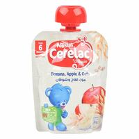 Nestle Banana Apple And Oat Cerelac 6 Months 90g