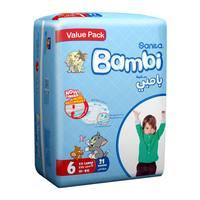 Bambi 6 value pack  6 xxl 18 + kg x 21