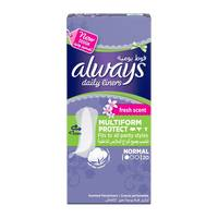 Always pantyliners multiform protect fresh 20 pieces