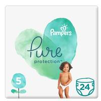 Pampers Pure Baby Diaper Value Pack Size 5 24 Count