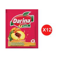 Darina Instant Powder Drink Peach 30GR X12