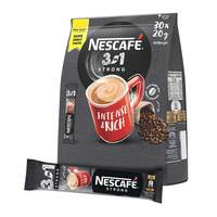 Nescafe 3in1 intenso instant & rich strong coffee 20 g x 30 sticks
