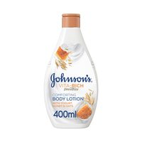 Johnson's body lotion honey and oats 400 ml