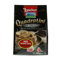 Loacker Quadratini Dark Chocolate Wafer Cookies 250g