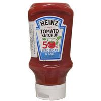 Heinz 50% Less Sugar And Salt Tomato Ketchup 400ml