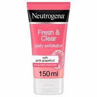 Neutrogena Facial Scrub Visibly Clear Pink Grapefruit 150ml