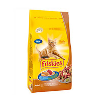 Purina Friskies Adult Cats Food Chicken & Vegetables 1.7KG
