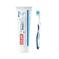 Cleodent Toothbrush + Toothpaste Free