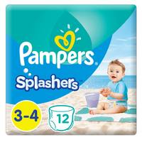Pampers Splashers Pants Size 3-4 12 Count