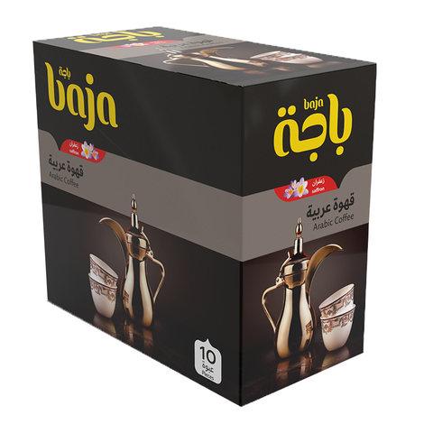 Buy Baja Instant Arabic Coffee With Saffron 30 G X 10 Pieces Online Shop Beverages On Carrefour Saudi Arabia
