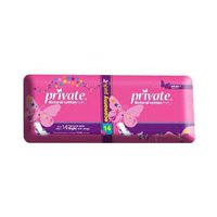 Private Ladies Pads Extra thin Night 14 Pads