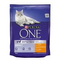 Purina One Chicken and Whole Grains Adult Cat Dry Food 800g