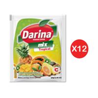 Darina Instant Powder Drink Tropical 30GR X12