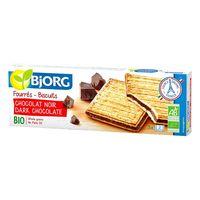 Bjorg Dark Chocolate Filling Biscuits 150 g