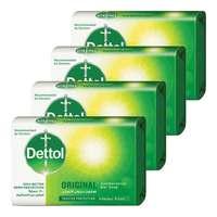 Dettol Original Soap Bar 165g x Pack of 4