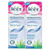 Veet Cream Sensitive Skin 100mlx2