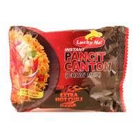 Lucky Me Pancit Canton Extra Hot Chilli Flavor Noodles 65g
