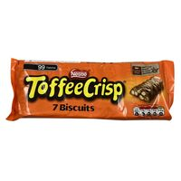 Nestle Toffee Crisp Chocolate Biscuits Pack Of 7 x 18.7g