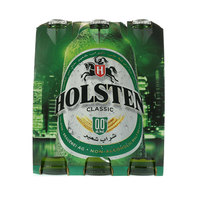 Holsten Classic flavor Malt Beverage 330ml x Pack of 6