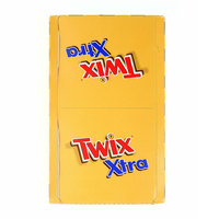 Twix Xtra Chocolate Bar 75g x Pack of 30