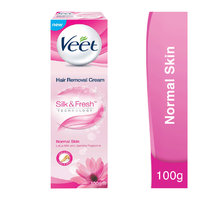 Veet hair removal cream for normal skin lotus milk & jasmine fragrance 100 g