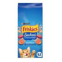 Purina Friskies Seafood Sensations Dry Cat Food 2.68kg