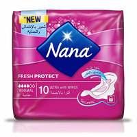 Nana Ultra Normal Wings Sanitary Pads 10 Count