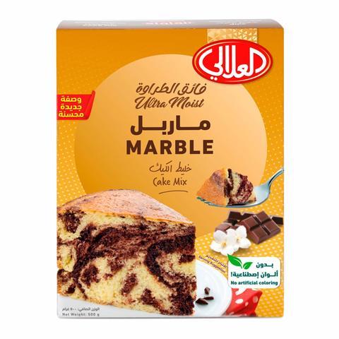 Buy Al Alali Marble Cake Mix 500 G Online Shop Food Cupboard On Carrefour Saudi Arabia