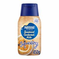 Sweetened condensed milk squeezy 450 g