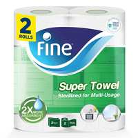 Fine Hygienic Towel Rolls Pack of 2