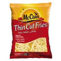 Mccain Thin Cut Potato French Fries 2.5kg