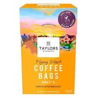 Taylors Flying Start Coffee Bags Roast 5 75g