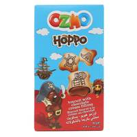 Ozmo Hoppo Biscuit with Chocolate Cream Filling 50g