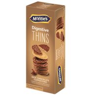 McVitie's Disgestive Thins Milk Chocolate Cappuccino Biscuits 150g