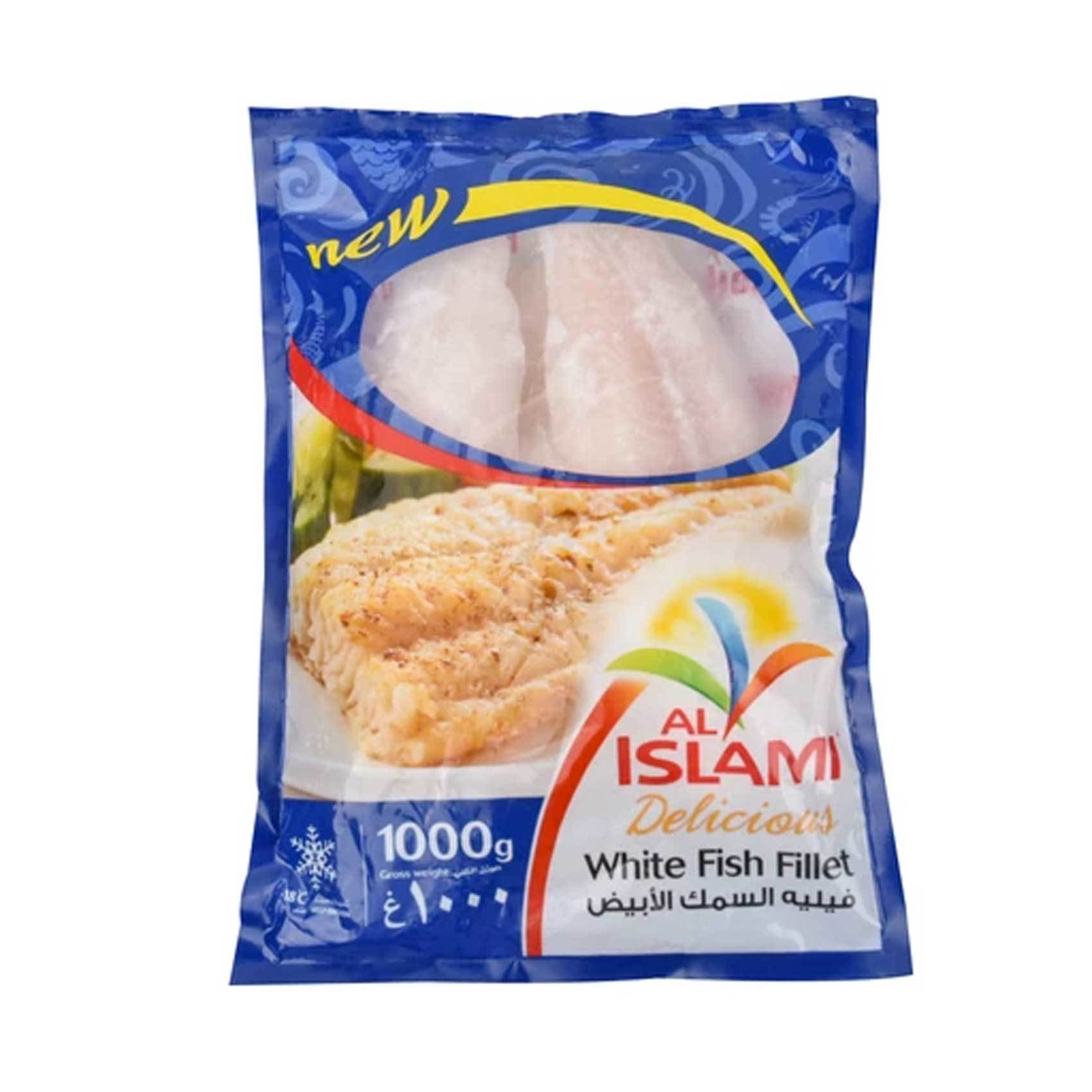 Buy Al Islami White Fish Fillet 1000g Online Shop Frozen Food On Carrefour Uae