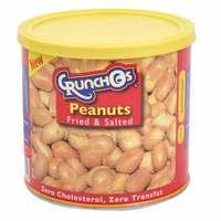 Crunchos Peanut Roasted Can 200g