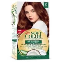 Wella soft color hair color kit 54 redish brown