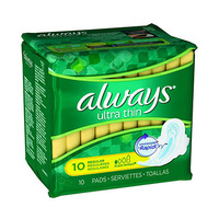 Always Ladies Pads Ultra Thin Normal 10 Pads