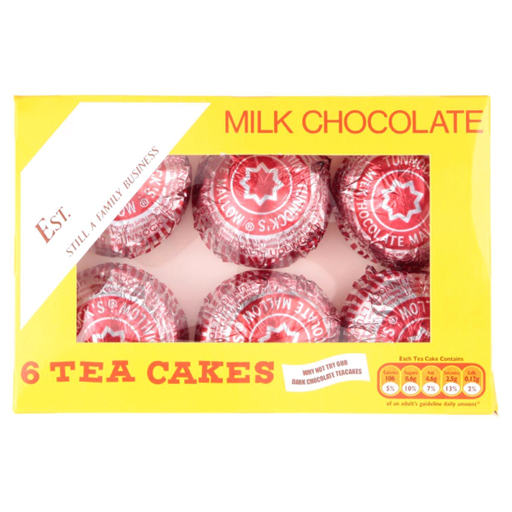 Buy Tunnock S Milk Chocolate Tea Cakes 144g Online Shop Food Cupboard On Carrefour Uae