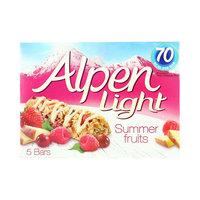 Alpen Light Summer Fruits 95g x 5 Bars