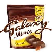 Galaxy Minis Caramel Chocolate Pouch 168g