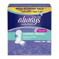 Always pantyliners fresh 80 Pieces