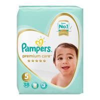 Pampers premium care 5 jumbo pack 11-16 kg 38 diapers