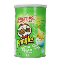 Pringles Sour Cream And Onion Snacks 70g
