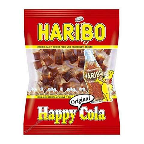 Buy Haribo Happy Cola Jelly Candy 17 G Online Shop Food Cupboard On Carrefour Saudi Arabia
