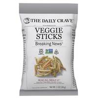 The Daily Crave Veggie Sticks 28g