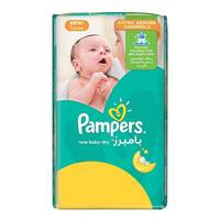 Pampers new baby-dry diapers size 1 newborn value pack 66 diapers