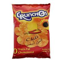 Crunchos Chili Flavour Potato Chips 150g