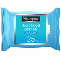 Neutrogena Makeup Remover Wipes Hydro Boost Cleansing Face 25 Counts